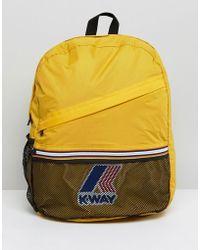 K-Way - K-way Festival Backpack - Lyst