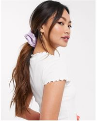 ASOS Grote Scrunchie - Roze