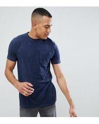 Jacamo T-shirt blu navy in spugna