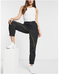 adidas Originals X Paolina Russo Logo Cuffed Pants - Black