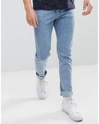 Weekday - Friday Lagoon Skinny Jeans - Lyst