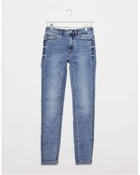 Pimkie Recycled Cotton Pushup Skinny Jean - Blue