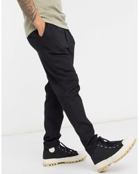 SELECTED Tapered Pants - Black