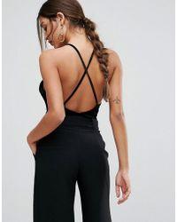 Ivyrevel - Velvet Cami Bodysuit With Low Back - Lyst