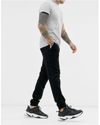 ASOS Skinny Cord Cuffed sweatpants - Black