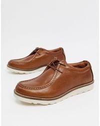 Original Penguin Casual Lace Up Shoes - Brown