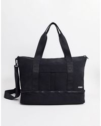 ASOS 4505 Holdall With Trainer Compartment - Black
