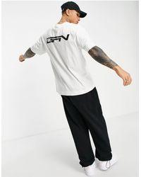 Good For Nothing Camiseta blanca extragrande con logo en el pecho y en la parte posterior - Blanco