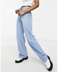 Levi's High Loose Wide Leg Jeans - Blue