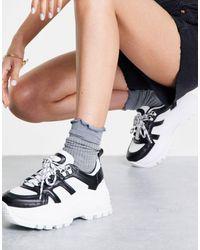 TOPSHOP Como Chunky Sneaker - Black