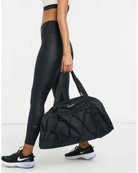 Nike Черная Сумка-дафл Club-черный Цвет