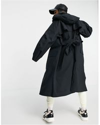 Nike Woven Trench Coat - Black