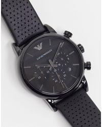 Emporio Armani Черные Часы Ar1737-черный Цвет