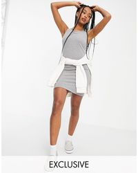 Vans Banter Tank Dress - Grey