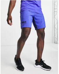 Nike Голубые Шорты Pt Flex-голубой - Синий