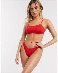 Nike Красные Плавки Бикини Essential-красный