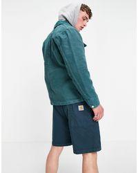 Carhartt WIP Michigan - Manteau - Bleu sarcelle - Vert