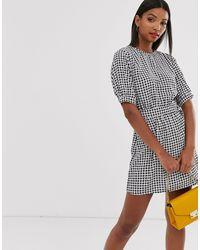 AX Paris Платье Мини С D-образным Элементом -мульти - Многоцветный