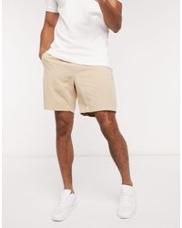 Abercrombie & Fitch Pull On Shorts - White
