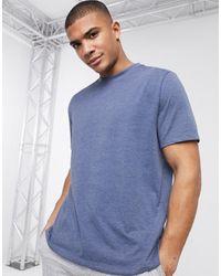 ASOS – Legeres T-Shirt mit Rundhalsausschnitt - Blau
