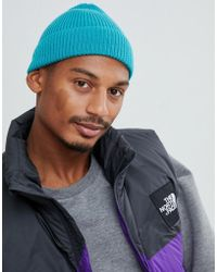ASOS Bonnet style pêcheur - Bleu canard - Vert