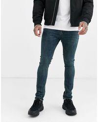ASOS Superskinny Jeans - Blauw