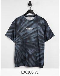 Sixth June Tour - T-shirt effet tie-dye - - Exclusivité ASOS - Noir