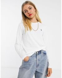 Polo Ralph Lauren Long Sleeve T-shirt - White