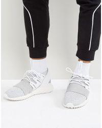 A Monochromatic adidas Originals Tubular Runner