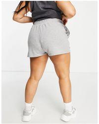Simply Be Shorts - Grey