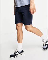 Tom Tailor Pantalones cortos chinos en - Azul