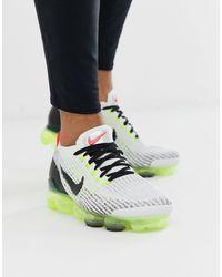 Nike Vapormax Flyknit 3.0 Retro Future Sneakers - White