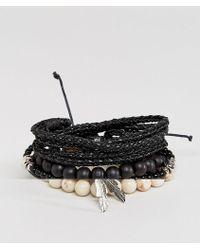 ALDO - Beaded Bracelet In 6 Pack - Lyst