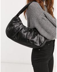 ASOS Slouchy Shoulder Bag - Black