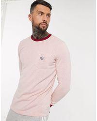 adidas Originals Розовая Футболка С Длинными Рукавами Premium-розовый
