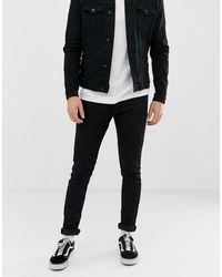 Replay Jondrill - Skinny Jeans Met Stretch - Zwart