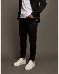 TOPMAN Jeans elasticizzati affusolati neri - Nero