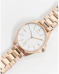 MVMT Часы Цвета Розового Золота С Белым Циферблатом -золотистый - Металлик