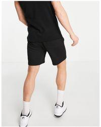 Tommy Hilfiger Flag Logo Essential Sweat Shorts - Black