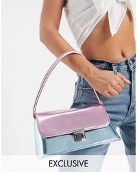 Glamorous Exclusive exaggerated Shoulder Bag - Multicolour