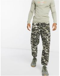 Liquor N Poker Cargo Trousers - Green