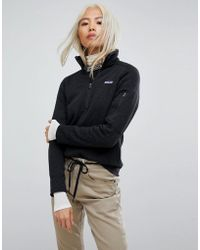 Patagonia - Better Jumper Half Zip Jacket In Black - Lyst