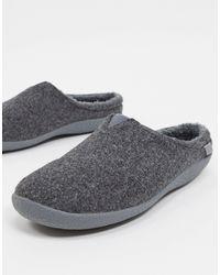 TOMS Berkley Vegan Slippers - Grey