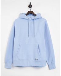 Pull&Bear Join Life Hoodie - Blue