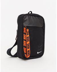 Nike Advance - Crossbodytas - Zwart