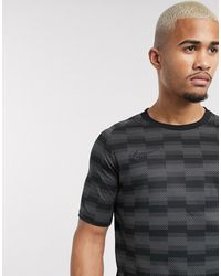 Nike Football Dry Academy Printed T-shirt - Black