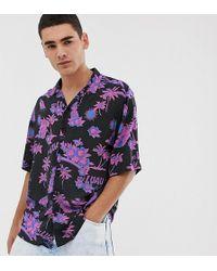 Collusion - Oversized Hawaiian Print Shirt - Lyst