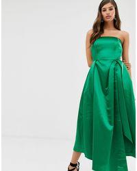 Closet Closet - Robe sans bretelles - Vert