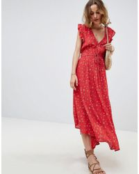 RahiCali - Prairie Rose Bella Dress With Open Back - Lyst