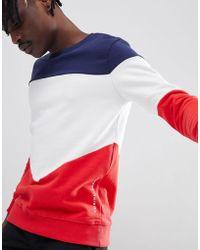 Criminal Damage - Retro Paneled Sweater - Lyst